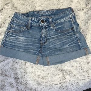 American Eagle Outfitters Shorts - American eagle midi jean shorts